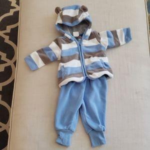 H&M matching fleece set